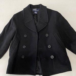 Polo Ralph LaurenBoy black wool coat/jacket size 5